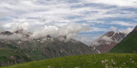 Etape de montagne